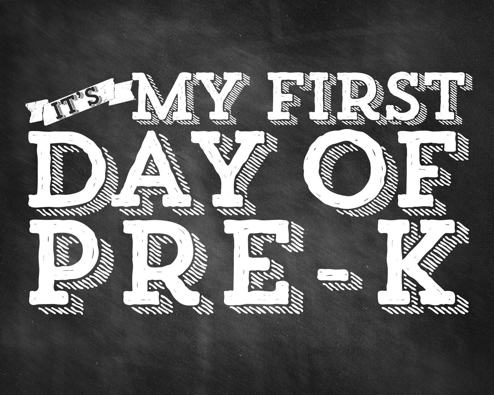 first day of school printable chalkboard sign mommy anxiety lipstick on the pig